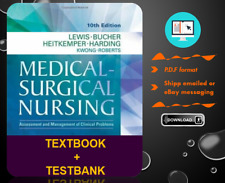 Medical Surgical Nursing 10th Edition By Lewis TEXTBOOK + TESTBANK