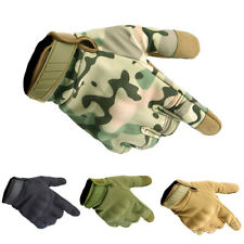 Tactical Protection Full Finger Gloves Touch Screen Function Non-slip Gloves