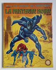 Vintage 1986 LA PANTHERE NOIRE Comic French LUG Edition Marvel | Black Panther