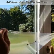 Adhäsionsfolie und Haftfolie für Window Color Fensterarbeiten in DIN Formaten