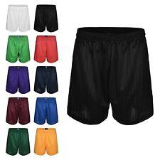 Boys/Girls Mens/Womens Football Shorts Rugby Gym Running Sports School P.EShorts