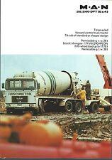 Truck Brochure - MAN - 26.240 DFT- Forward Control Tractor (T1967)