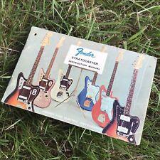 1960s Fender Stratocaster Hang Tag Instruction Manual 1963 1964 1965