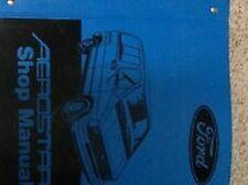 1987 Ford Aerostar Van Service Shop Werkstatt Reparatur Manuell OEM Buch 1987