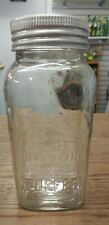 VINTAGE 1930'S BLUE RIBBON COFFEE JAR