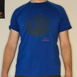 Mammut Mountain T-Shirt Men blau Gr. L