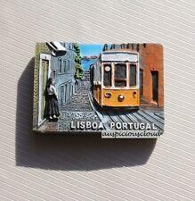 TOURIST SOUVENIR 3D RESIN FRIDGE MAGNET -- Lisbon , Portugal