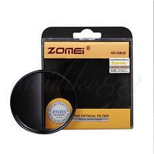 ZOMEI 52mm Circle Graduated Gradual Neutral Density Gray Color Lens Filter Grey