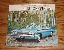 Original 1961 Buick Special Sales Brochure 61 Deluxe