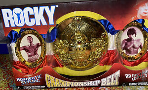 Rocky Balboa Championship Belt Title Jakks Pacific