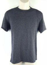 Outdoor Voices Mens Short Sleeve Crewneck Performance Shirt Sz Small Gray Euc