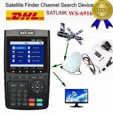 Profi Satfinder Satlink WS-6916 DVB-S/S2 HD Sat Messgerät DVB Digital TOP