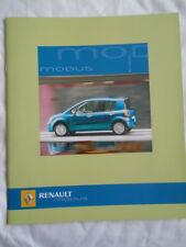 Renault Modus brochure May 2005