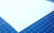 Plain Plastikard Plastic Model Making Railway Architecture Sheet 0.5mm-3.0mm