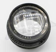 "Kodak Anastigmat 7 1/2in. 191mm F4.5 Graflex 3a 3 1/4"" x 5 1/2"" Camera Lens"