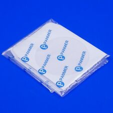 More details for 500 x dvd cd whitepaper sleeve cover case with adhesive flap