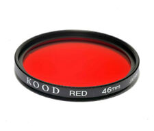 Red 46mm High Quality Kood Optical Glass red Filter Made in Japan Multicoated
