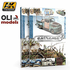 Extreme 2:  Weathered Vehicles & Reality in Scale Book - AK Interactive 503