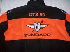 NEU ZÜNDAPP GTS 50 Oldtimer Fan-Jacke schwarz orange veste jacket jakka jas