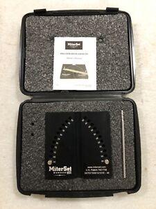 Shopsmith Mark V Miter Gauge MiterSet Standard 1/2° degree increments #556458