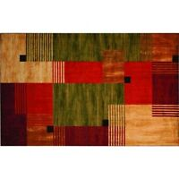 Mohawk Alliance Area Rug Wave Stain Resistant USA Durable Non skid latex backing