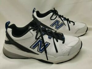 NEW BALANCE Size 9 White Training Men's Sneakers RETAIL $69 CLEAN!