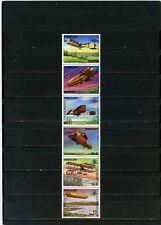PARAGUAY 1984 Sc#2101 Histoire de aviation ensemble de 6 Timbres MNH