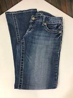 Maurices Women's Jeans Size 3/4 Short Original Denim Pants Zip Button Pockets