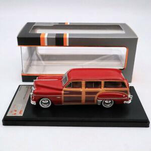 Premium X 1:43 Dodge Coronet Woody Wagon 1949 Bordeaux PRD563 Diecast Models