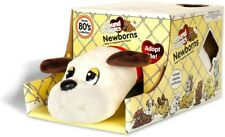 pound puppies newborns. White with brown spots and red collar
