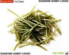10 Pack Trans Green Tapered Anti Tangle Sleeves 50mm Carp Coarse Fishing Tackle