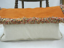 Fabricut Fabrics Andes Ultra Suede Silk Envelope Pillow Feather/Down 23 x 14