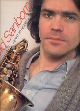 DAVID SANBORN heart to heart US EX LP 1978