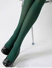 #07 - 80 Denier Green Tights Costume Pantyhose