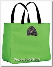 Puli embroidered essential tote bag Any Color