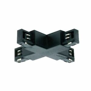 JCC 3 CIRCUIT TRACK X CONNECTOR BLACK ELECTRICAL LIGHTING ACCESSORIES JC88016