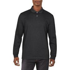 Club Room Para Hombre Con Cuello Mangas Largas Camiseta Polo Camisa BHFO 2914