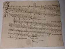 Schnörkel-Geburtsbrief Döben (Grimma) 1787 für Johann Christian Köditz (*1754)