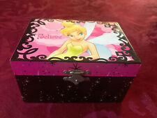 "Disney ""Tinkerbell"" Park Lane Assoc. Jewelry Music Box "",Sugar Plum Fairy"""