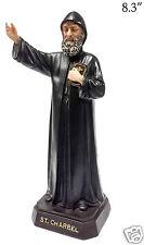 "St Charbel Sculpture Saint Charbel Makhluf Holy Figurine Statue Unique 8.3"" 21cm"