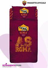 Completo letto singolo 1 piazza As Roma in cotone prodotto ufficiale