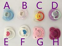 4 Pcs Reborn Doll Supplies Magnetic Dummy Pacifiers for Reborn Baby Kits Replace