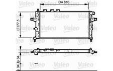VALEO Radiador refrigeración del motor para OPEL ASTRA ZAFIRA VAUXHALL 732550