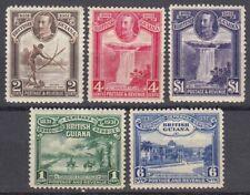 British Guiana Sc 205-209 (SG 283-287), MHR