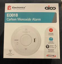 2 x Aico EI3018 Mains Carbon Monoxide Detector Alarm Battery March 2031