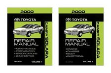 2000 Toyota Solara Shop Service Repair Manual Book Engine Drivetrain OEM