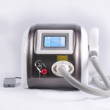 ND Q SWITCH YAG LASER TATTOO EYEBROW PIGMENT REMOVAL BEAUTY MACHINE 1000mJ