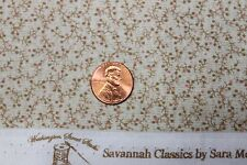 """SAVANNAH CLASSICS"" C.1865 QUILT FABRIC BTY WASHINGTON STREET STUDIO 00487-E"