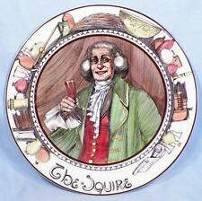 Royal Doulton Cabinet Plate The Squire Professionals Porcelain Vintage Tc1051