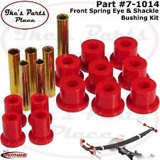 Prothane 7-1014 Front Spring Eye & Shackle Bushing Kit 67-70 Chevy/GMC - 4wd
